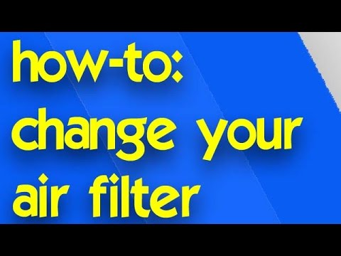 How To Change Home Air Filter