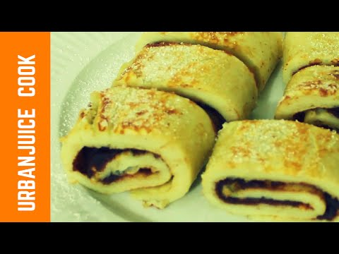 Pancakes with Red bean Filling