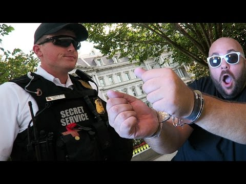 ARRESTED BY THE SECRET SERVICE!?!