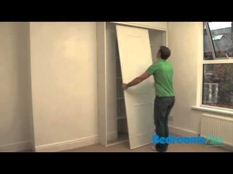 Sliding door wardrobes - Fitting your Tracks & Doors
