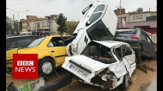 Download Iran flood: Dozens killed and homes damaged after heavy rain - BBC News Video