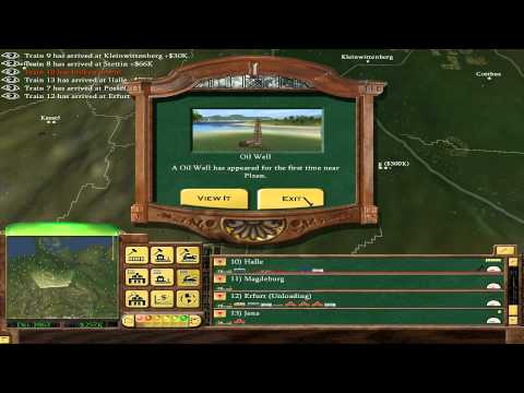 Railroad Tycoon 3  18 - The State Of Germany 2/3