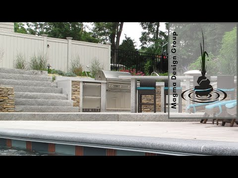 Outdoor Kitchen Countertop Installation