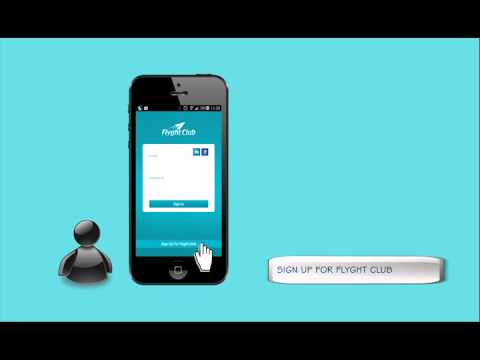 Flyght Club App : Chat during flight and make friends