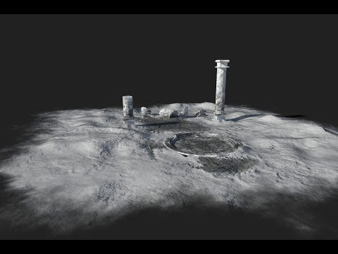 Making of snow ruins 3ds max tutorial part - 1
