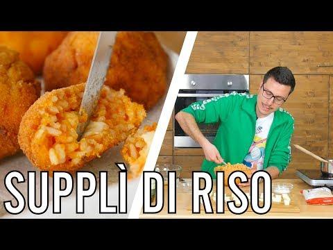 Supplì alla Romana - IO FRIGGO TUTTO - Valerio   Cucina da Uomini