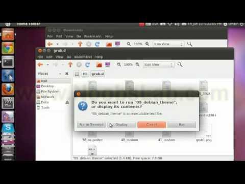 Add Background picture to Grub 2 on Ubuntu