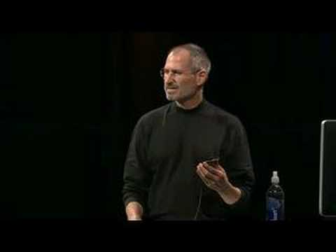 Apple Music Event 2007-The iPod Touch Introduction (Pt.1)