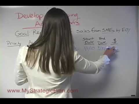 How to Develop Action Plans for Your Business Goals 12