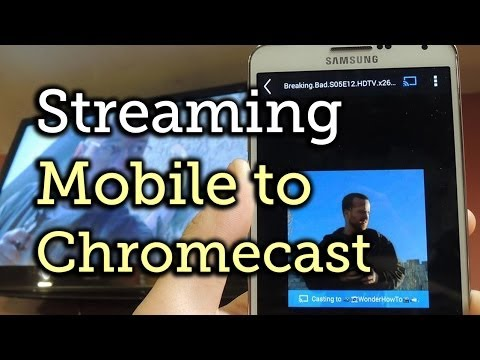 Stream Any Video on Your Android or iOS Device to Chromecast on Your TV [How-To]