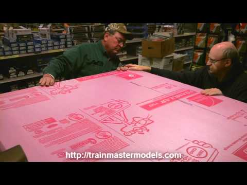 HO Layout Build Pt. 6 @ Trainmaster Models
