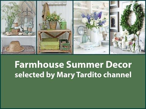 Farmhouse Summer Decor – Rustic Summer Decorating Ideas