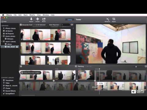 iMovie 103: Trimming Titles Transitions  Trailers - 11. The Precision Editor