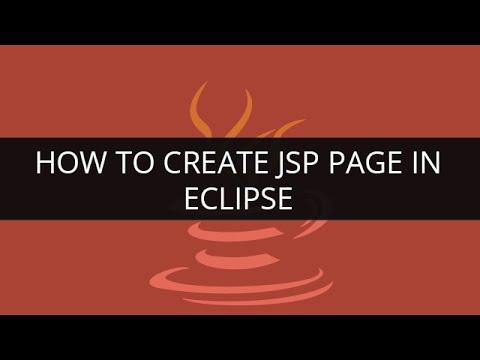 How to Create JSP Page in eclipse | JSP Tutorial | Java Tutoial | Edureka