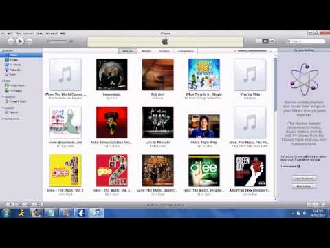 How to put Vuze Music Into iTunes