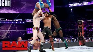 Gallagher, Tozawa & Swann vs. Kendrick, Dar & Nese: Raw, May 1, 2017