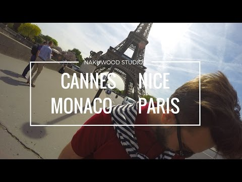 Touring Europe | Cannes | Nice | Monaco | Paris