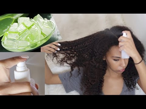 ALOE VERA Moisturizing Spray for HAIR GROWTH, Scalp Circulation and Moisture | Natural Hair