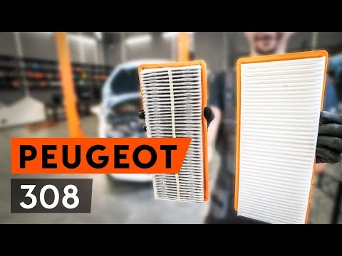 How to replace air filter onPEUGEOT 308 1 T7 (4A_, 4C_)[TUTORIAL AUTODOC]