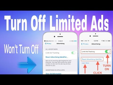 How To Turn Off/Disable Stuck Limit Ad Tracking On iPhone! BobbyMovie , AppNana , Are Affected!