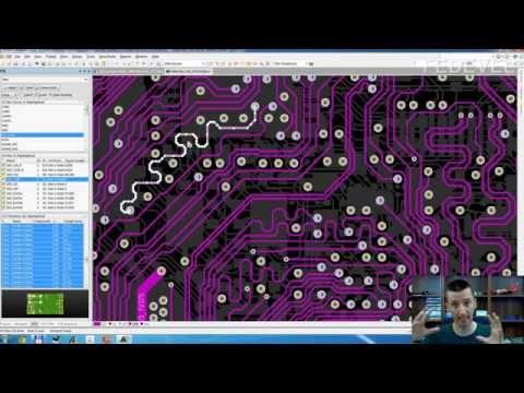 Altium Tutorial - Quick Track Selection, use TAB