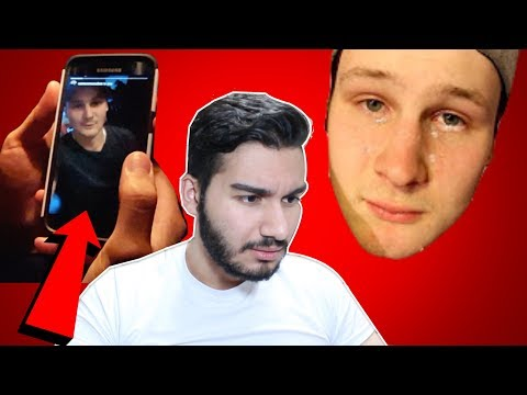 NameBran WATCHED AND REACTS TO MY VIDEO!!! | Kicked Off of YouTube???