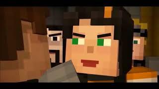 Lukas X Jesse Human Collab Minecraft Story Mode