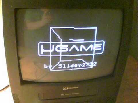 Arduino retro TV games system