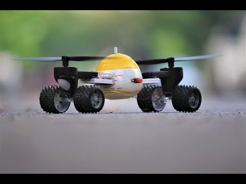 How To Make Helicopter - Helicopter car