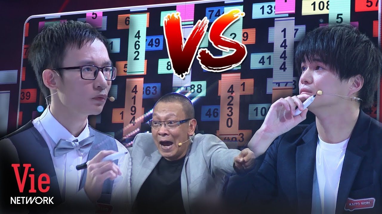 AXIS LOGIC Challenge: The peak competition between Huy Hoang and Kaito Mori | THE BRAIN VIETNAM
