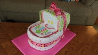 Download Bassinet Diaper Cake (How To Make) Video