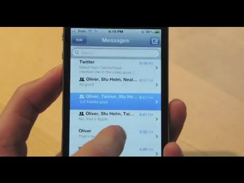 How to Send/Receieve Unlimmited Text Message on iPod Touch