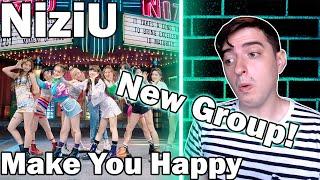 "NiziU - ""Make You Happy"" MV | REACTION"