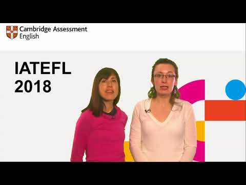 IATEFL 2018: Designing tests to encourage collaborative discussion among A2 learners