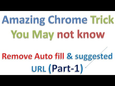 Chrome Tips and Trick No  1 How can I disable Chrome's address bar search autocomplete disable url s