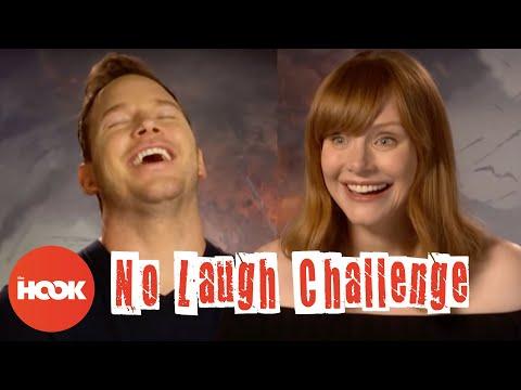 CHRIS PRATT & BRYCE DALLAS HOWARD Make Each Other Laugh With Dumb Jokes | The Hook