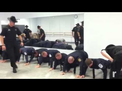 Basic training for police at SUNY Ulster