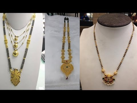 Latest New Trendy Gold Mangalsutra Designs With Weight - She Fashion