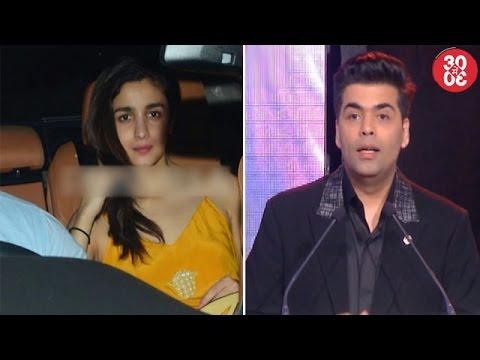 Sidharth & Alia Have A Fun Night | Karan Miffed With Bebo For Spreading Harsh – Sara's Linkups