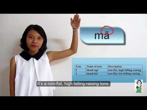 Vietnamese Pronunciation #4: 6 Tones