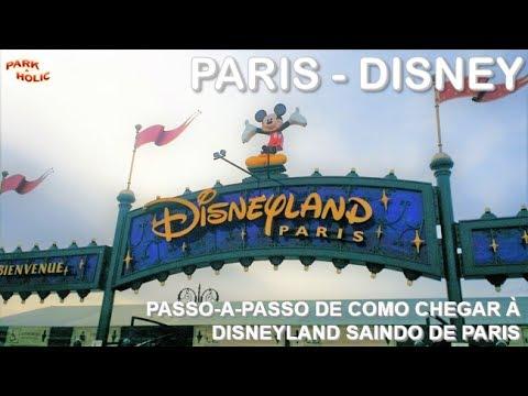 Disneyland Paris - Passo-a-passo de como chegar à Disney saindo de Paris