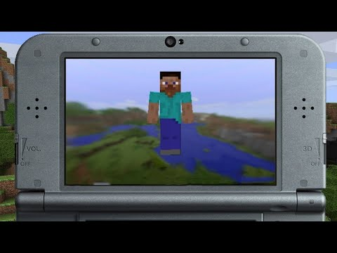 4 Minutes of Minecraft Running on New Nintendo 3DS