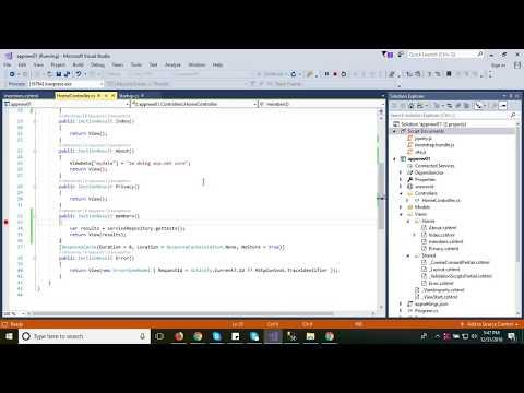#6 Bind  dynamic data from Controller to View ASP NET MVC CORE | EF CORE | DOTNET CORE