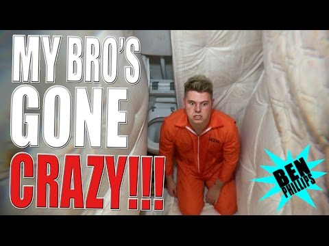 My bro's been locked up! PRANK!