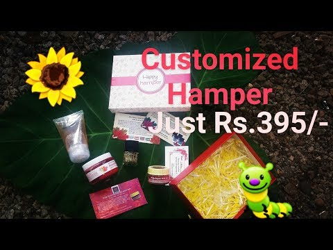 Happy Hamper Customized for just Rs.395/-.. More option at unbelievable cost 👍