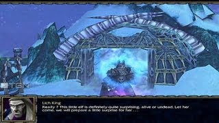 Warcraft 3 Custom Campaign Rise Of The Lich King Part 1