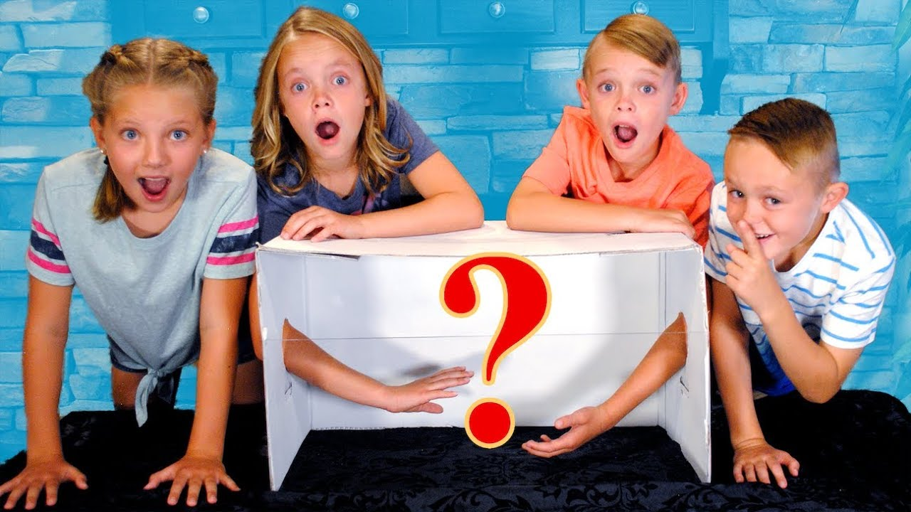 Girls VS Boys! What's in the Box Challenge! New Items! Twins!