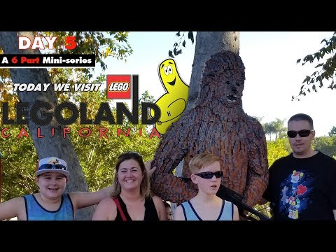 Cali Trip Day 5 (LEGOLAND CALIFORNIA) - HTG