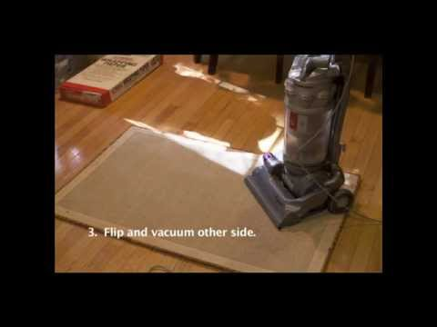 How to Deep Clean an Area Rug!