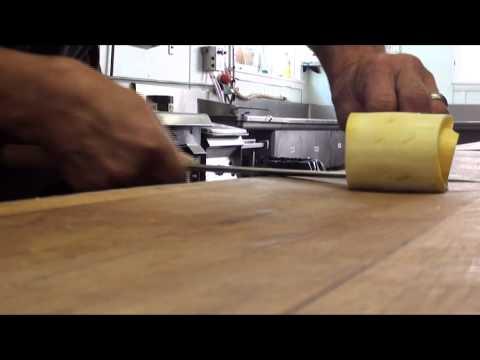 Slicing Yellow Squash
